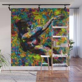 Libby dancing Wall Mural
