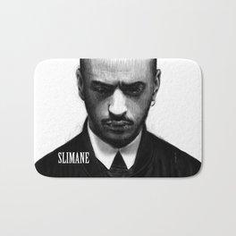 Portrait of Slimane Bath Mat