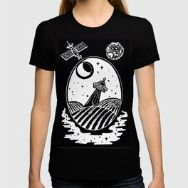 UFO Farm Sighting Invert T-shirt