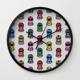 Power Chibi Rangers (Mighty Morphin) Wall Clock