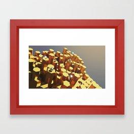 LUXUS Framed Art Print
