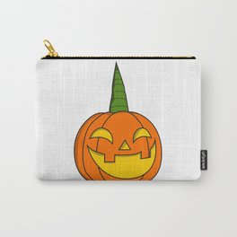 Pumpkin Unicorn Halloween Kids scary disguise gift idea kids Carry-All Pouch