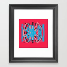 One Down Framed Art Print