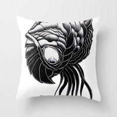 Brain Feeder Throw Pillow