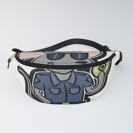 Mouse police security cookie gift Fanny Pack