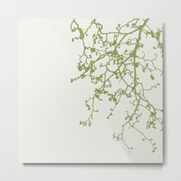neutral and olive Metal Print