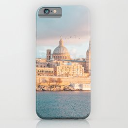 Valletta Sunset iPhone Case