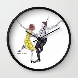 After La La Land Wall Clock