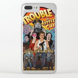 Big trouble little china art Clear iPhone Case