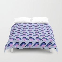 geometric birds Duvet Cover