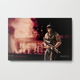 Father's, don't go blowin' shit up today. Happy Father's Day!!! Metal Print
