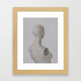 The mannequin Framed Art Print