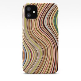 Old Skool Stripes - Flow iPhone Case