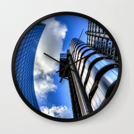 Lloyds of London and Willis Group Buildings Wall Clock