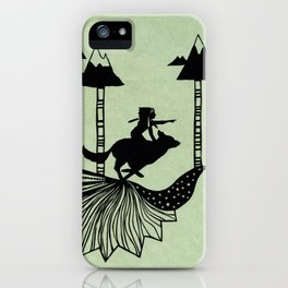 Midnight Hunt iPhone Case