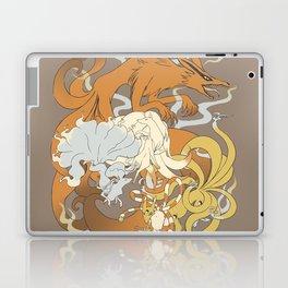 Kitsune group Laptop & iPad Skin