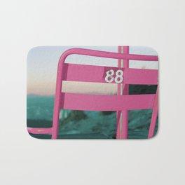 Pop Art 80's Chair Lift Bath Mat