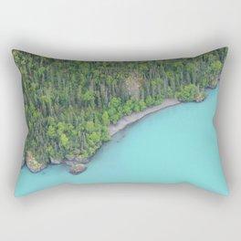 Alaskan Glacier Lake Rectangular Pillow