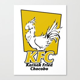 Karnak Fried Chocobo Canvas Print