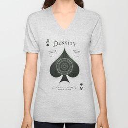 Ace of Spades — Density Unisex V-Neck
