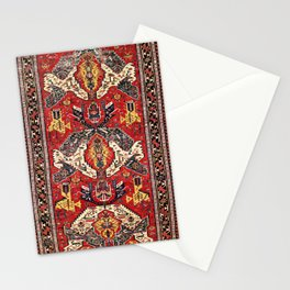 Dragon Sumakh Antique East Caucasus Kuba Rug Print Stationery Cards