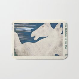 J. D. Salinger's The Catcher in the Rye - Literary book cover design Bath Mat