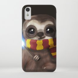 Hairy Potter Sloth iPhone Case