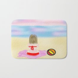 Beach Girl Bath Mat