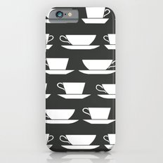 Pattern of Coffee and Tea Cups Slim Case iPhone 6s