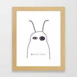 punched buggy Framed Art Print