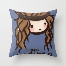 Total Hipster Throw Pillow