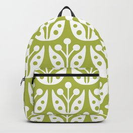 Mid Century Flower Pattern 5 Backpack