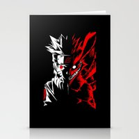 naruto Stationery Cards featuring Naruto by offbeatzombie