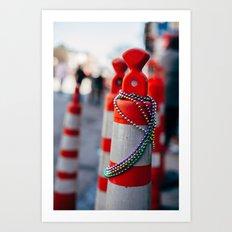 Festive Art Print