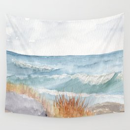 Herring Cove Look-Off Waves Wall Tapestry
