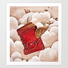 Book Heaven Art Print
