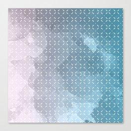 Geometric Aquarelle Canvas Print