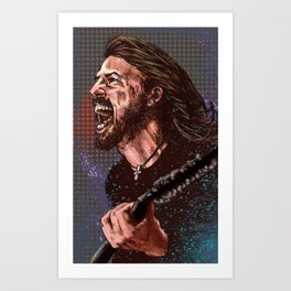 Grohl : The Nicest Guy in Rock Art Print
