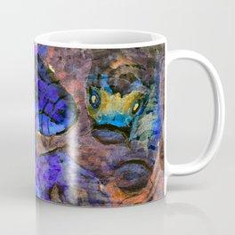 Little Koi Blue Coffee Mug