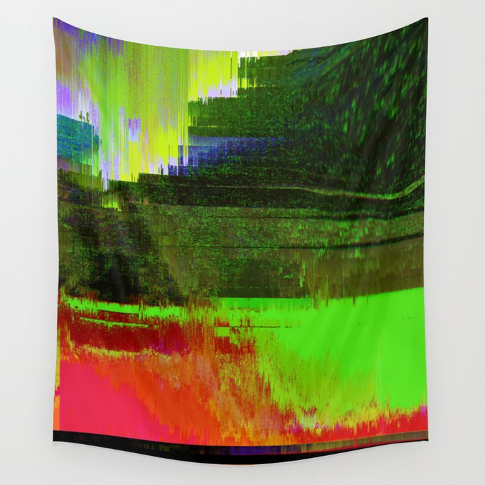 Memories of Green Wall Tapestry