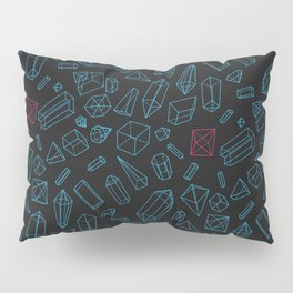 Crystals Pattern Pillow Sham
