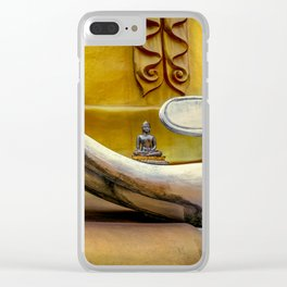 Hand of Buddha Clear iPhone Case