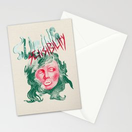 "Debbie Harry(BLONDIE) ""Slipping Sensibility"" - The Punk Loons. Stationery Cards"