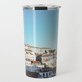 Lisbon Sky - View of Alfama Travel Mug