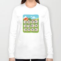sheep Long Sleeve T-shirts featuring Sheep by Elle Moz