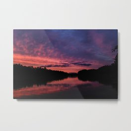 South Carolina Sunset Metal Print