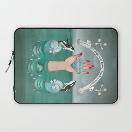 dive deep and bring back treasures Laptop Sleeve