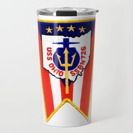 USS OHIO (SSBN-726) PATCH Travel Mug