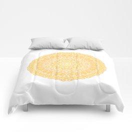 Mandala 13 / 1 yellow Citrine Comforters