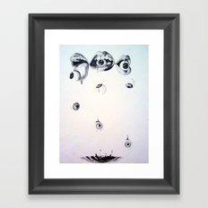 Eyes n' Mouths Framed Art Print